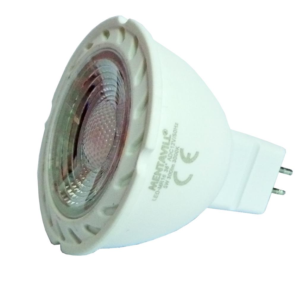 LED MR16 5W 3000K 120° 350lm