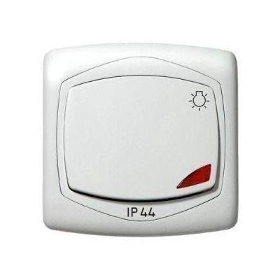 TON N101Lj IP44 NYOMÓKAPCS LÁMPA FH